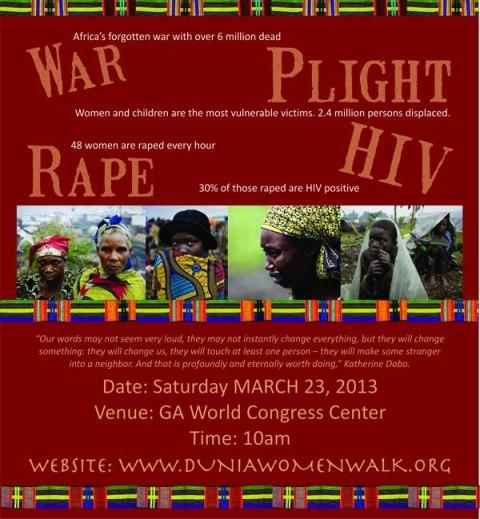 Atlanta_Marche d'un Million de Femmes pour le Congo_1