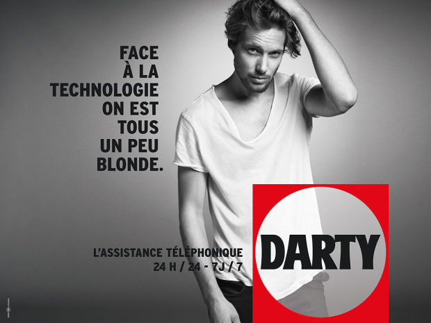 darty s 39 affiche sexiste cocoon et moi. Black Bedroom Furniture Sets. Home Design Ideas